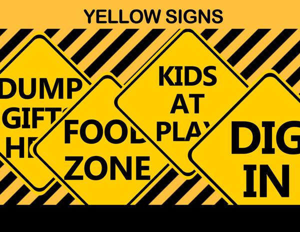 printable construction birthday signs ; 32-Construction-Yellow-Signs