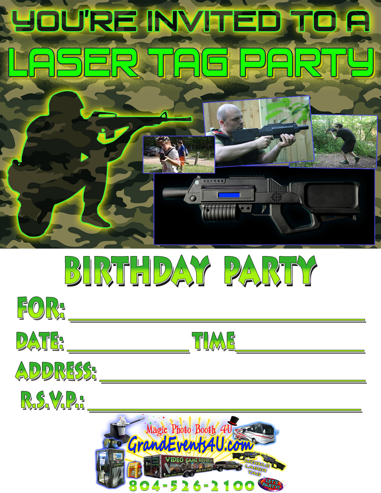 printable laser tag birthday party invitations ; Laser-Tag-Birthday-Party-Invitations-is-one-of-the-best-idea-for-you-to-make-your-own-birthday-Invitation-design-1