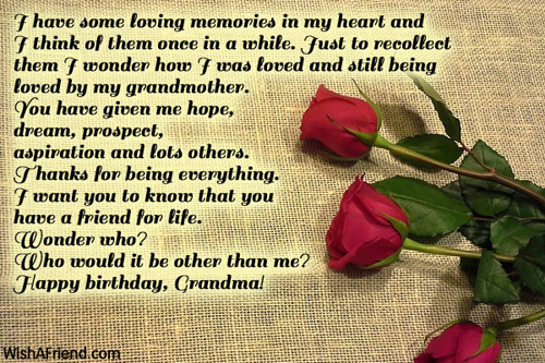 some birthday wishes messages ; 11765-grandmother-birthday-wishes