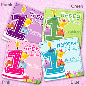 sticker birthday tags ; 1st-Jungle-Birthday-Square-Tags-Stickers