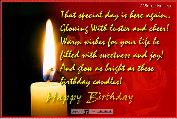 text birthday greetings message ; bday