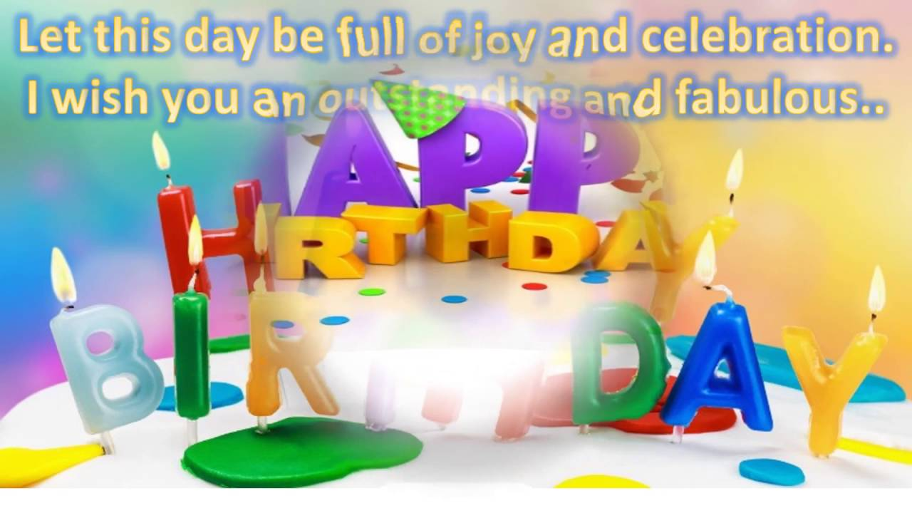 text birthday greetings message ; maxresdefault