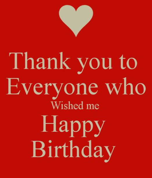 thank u message for birthday wishes ; 0165f3a87ee5f35834716f7e25652bfc