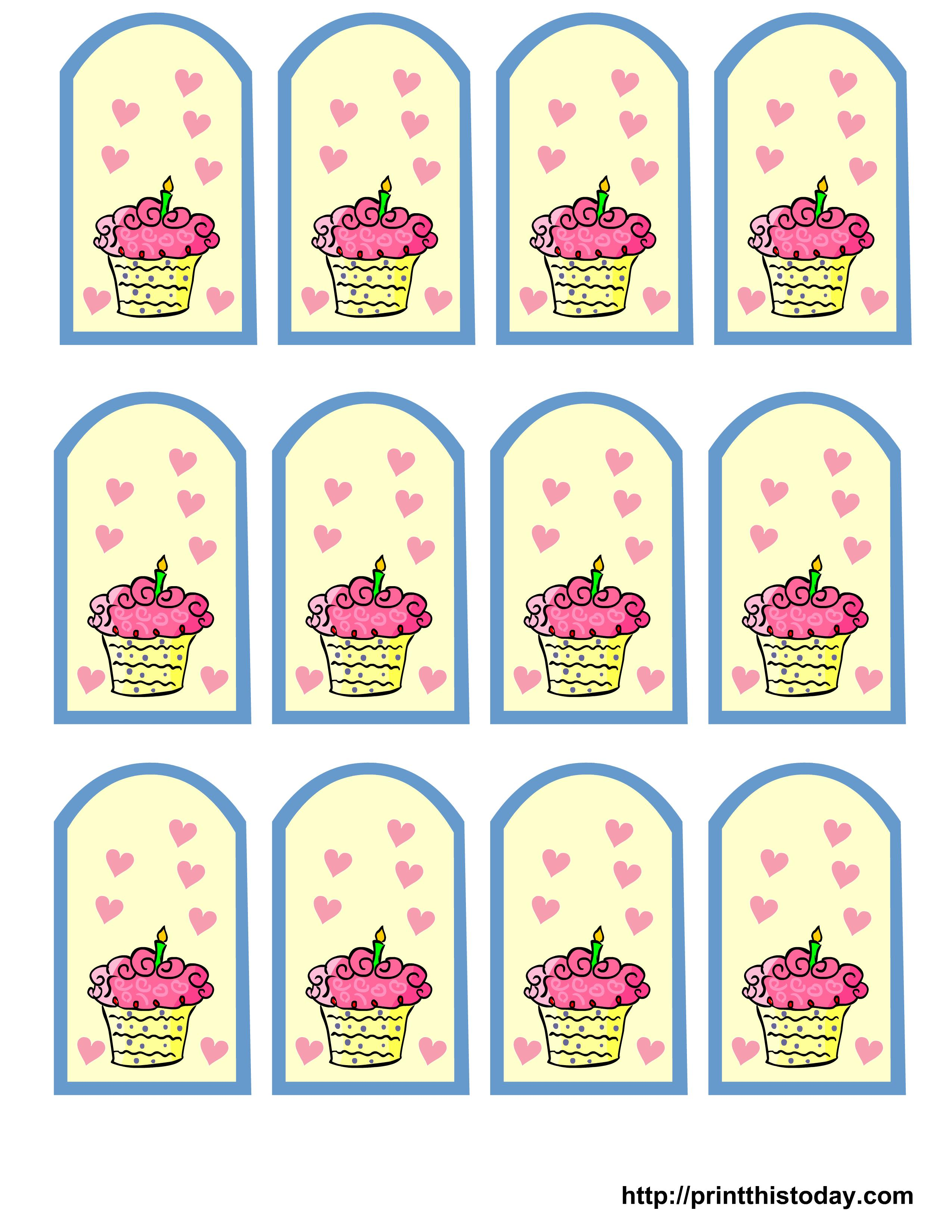 thank you birthday tags template ; free-printable-birthday-favor-tags_384629