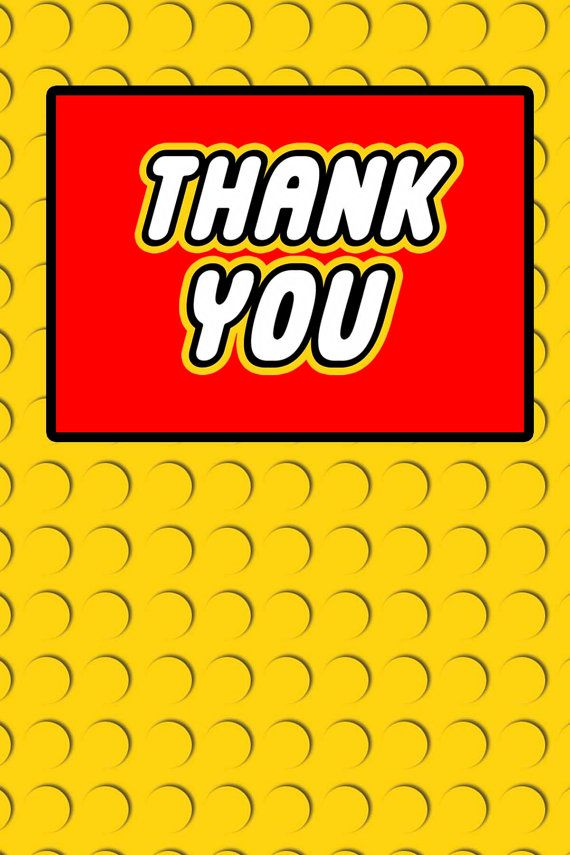 thank you birthday tags template ; lego-thank-you-cards-138-best-lego-party-images-on-pinterest-lego-parties-7th
