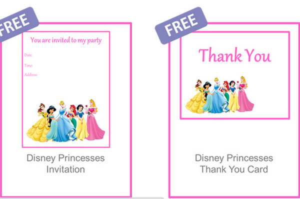 thank you birthday tags template ; princess-birthday-party-invitations-free-printable-16-ideas-for-the-perfect-princess-party-brisbane-kids-templates