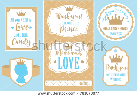 thank you birthday tags template ; stock-vector-set-of-vector-vintage-frames-templates-gift-tags-for-royal-party-wedding-baby-shower-birthday-781070077