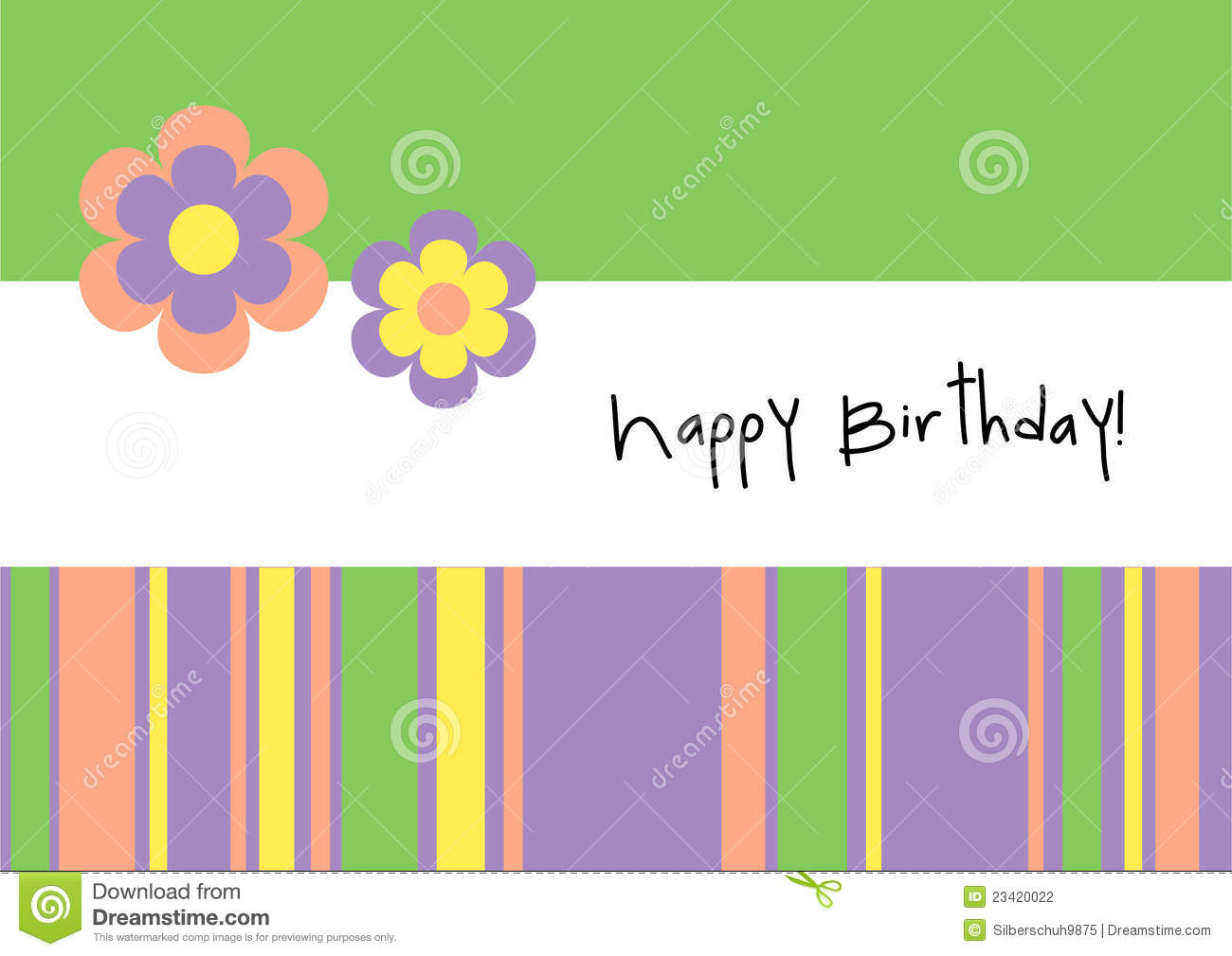 wallpaper design for birthday ; happy-birthday-card-templates-the-art-mad-wallpapers-flowers-green-rectangle-shape-black-letters-download-from-dreamstim