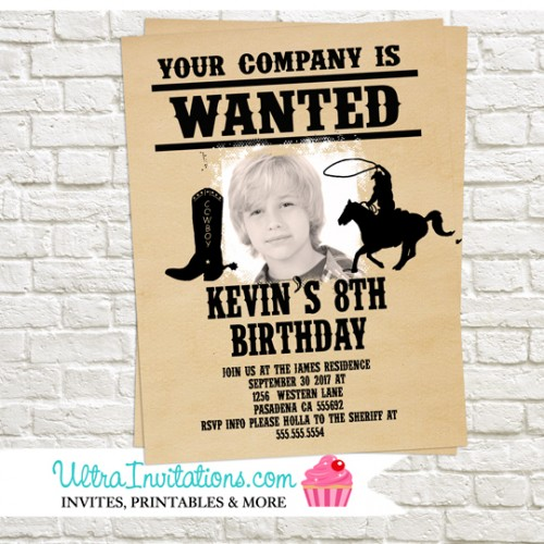 wanted poster birthday invitations ; wanted-poster-birthday-invitations-boy-500x500
