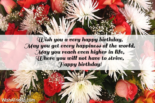 wish you a very happy birthday message ; 2561-happy-birthday-messages