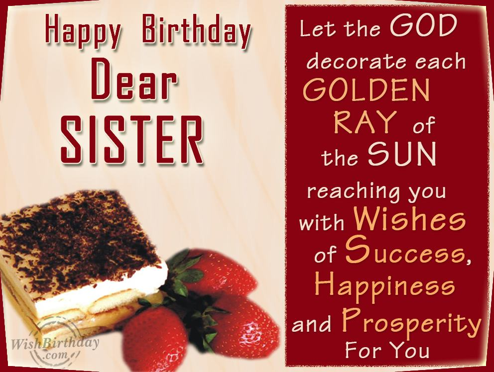 wish you a very happy birthday message ; unique-happy-birthday-wishes-for-my-dear-sister%252B%25252811%252529