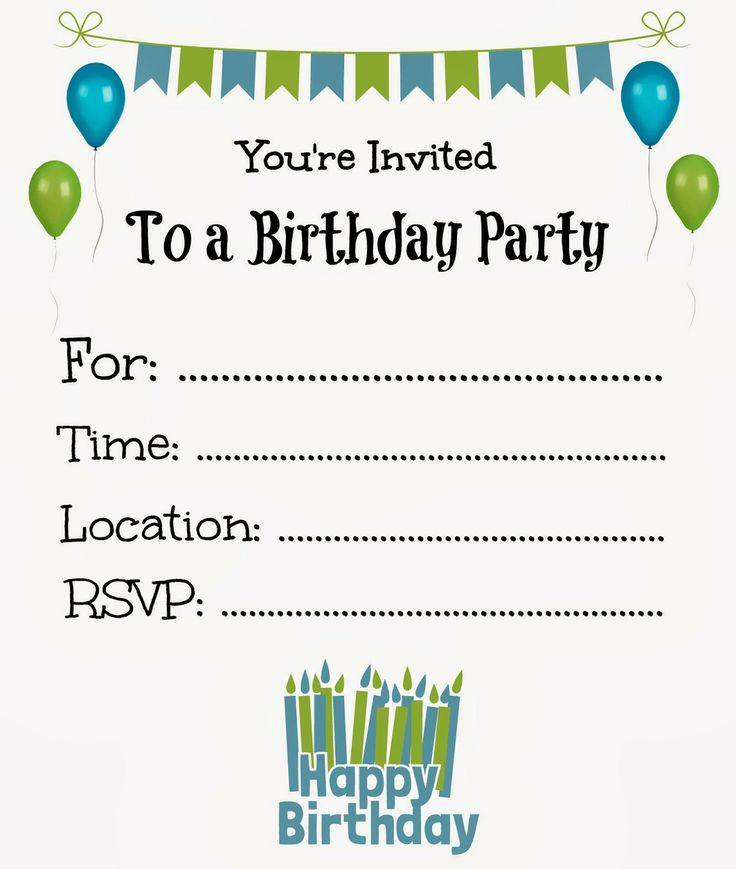 10th birthday invitation cards free printables ; free-printable-birthday-party-invitations-for-boys-For-elegant-model-Birthday-Invitations-design-invitation-with-an-attractive-8