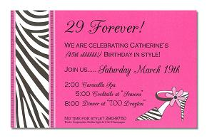 10th birthday invitation quotes ; diva-days-ladies-birthday