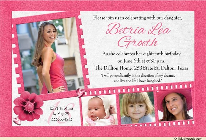 18th birthday invitation card designs ; 18th-birthday-invitation-girly-pink-flower-party-within-18th-birthday-card-invitation-design