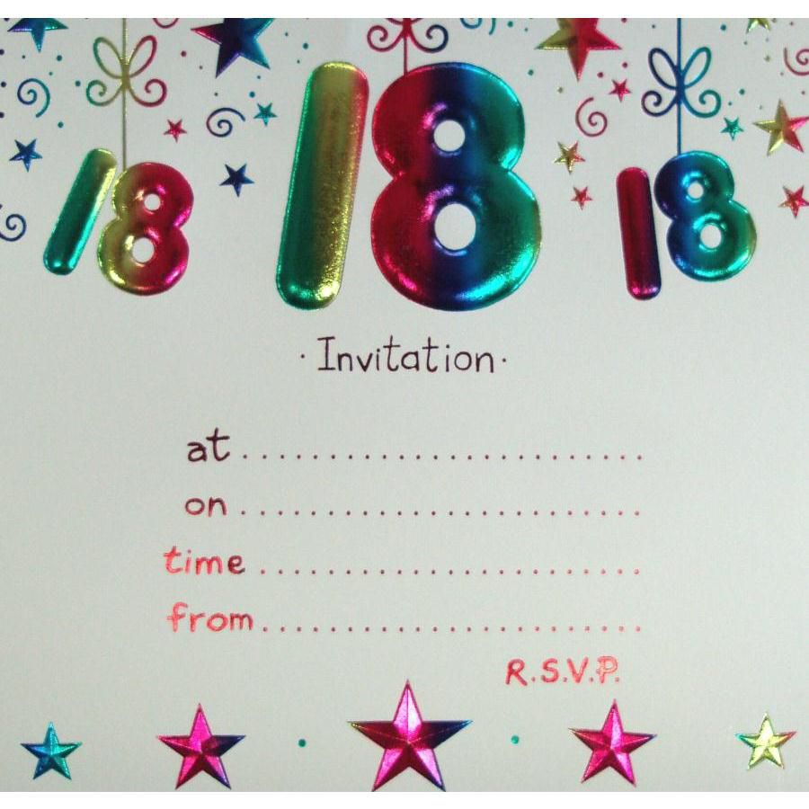 18th birthday invitation cards printable ; 18th-Birthday-Invitations-Free-Templates-1