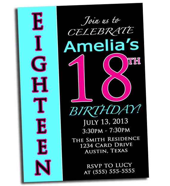 18th birthday invitation cards printable ; 1ca28389575459e106e923b8e4ade56f