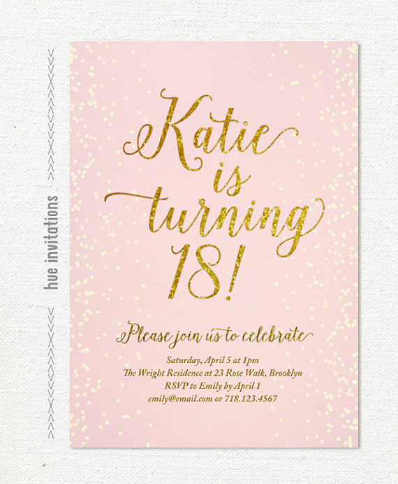 18th birthday invitation cards printable ; il_570xN
