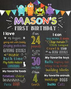 1st birthday chalkboard poster template ; 7e1eb40b51ec73db8a9a09199d3eecd8--chalkboard-poster-chalkboard-ideas