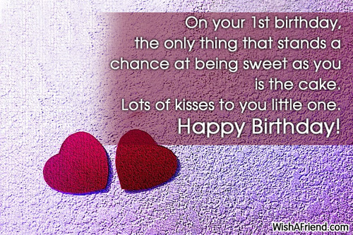 1st birthday greeting messages ; 543-1st-birthday-wishes