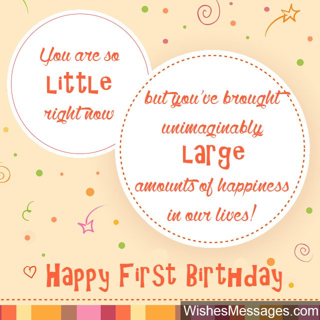 1st birthday greeting messages ; First-birthday-greeting-card-little-child-turning-one-year-old-640x640