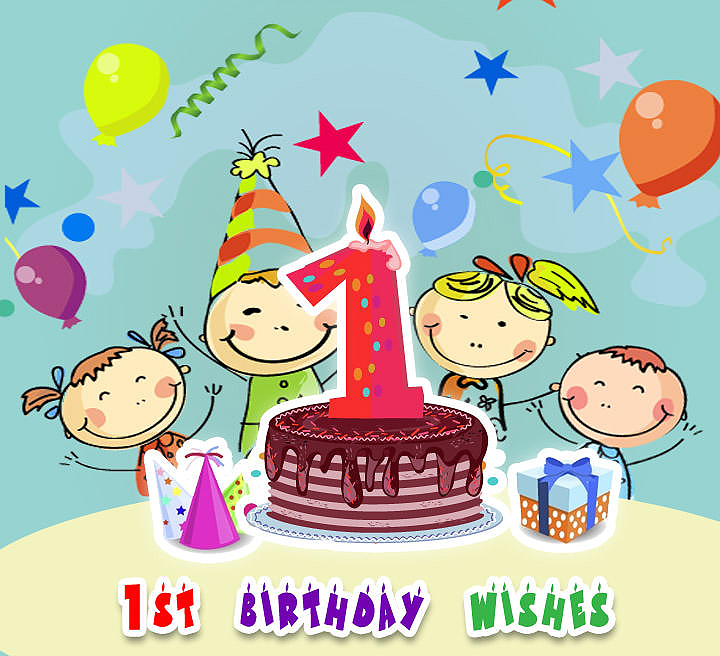 1st birthday greeting messages ; first-birthday-wishes-quotes