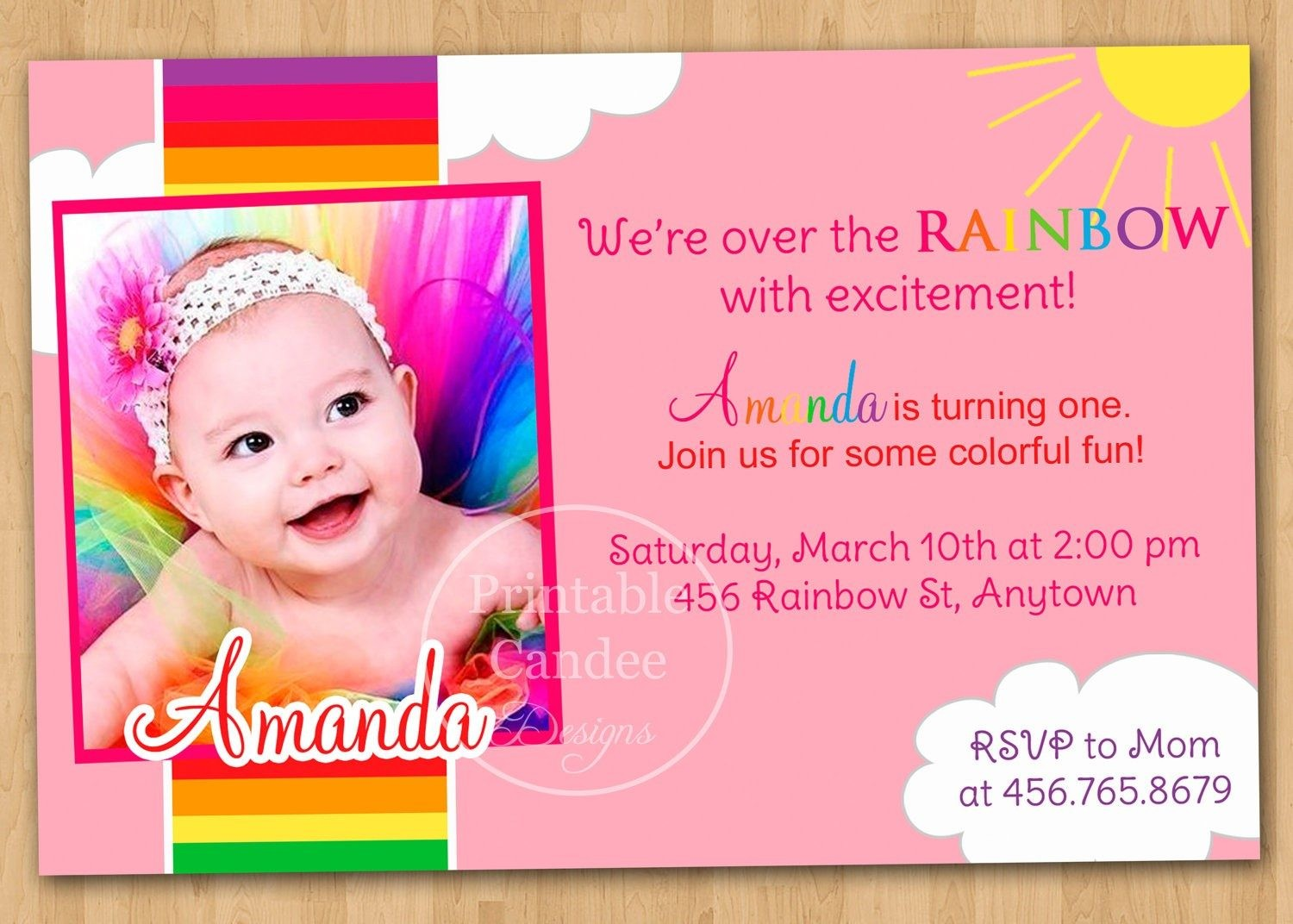 1st birthday invitation card design ; invitation-for-1st-birthday-card-fresh-1st-birthday-invitation-cards-templates-free-theveliger
