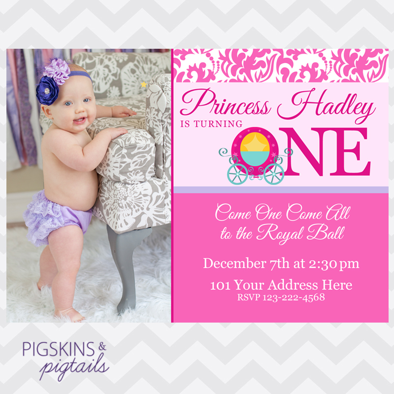 1st birthday invitation princess theme ; first-birthday-princess-invitations-is-most-katadifat-ideas-you-could-choose-for-Birthday-Invitations-sample-12