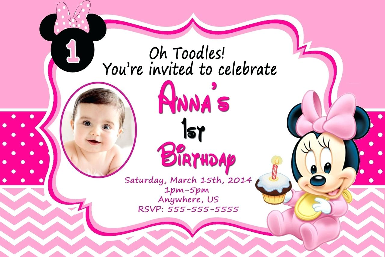 1st birthday invitation templates photoshop ; 1st-birthday-invitations-template-with-photo-baby-mouse-invitation-free-photoshop