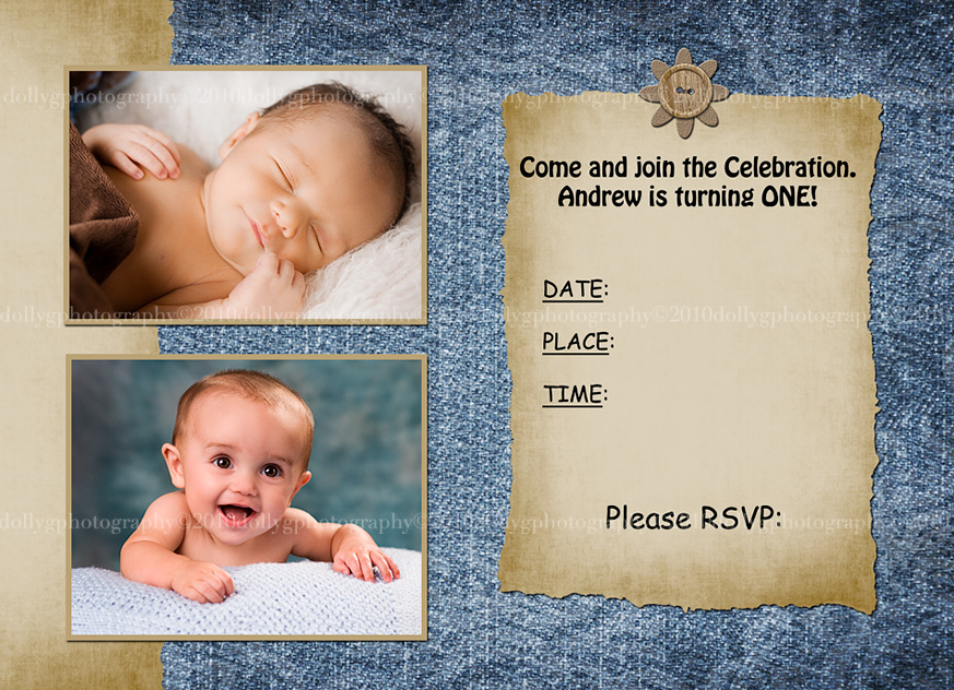 1st birthday invitation templates photoshop ; inviteback