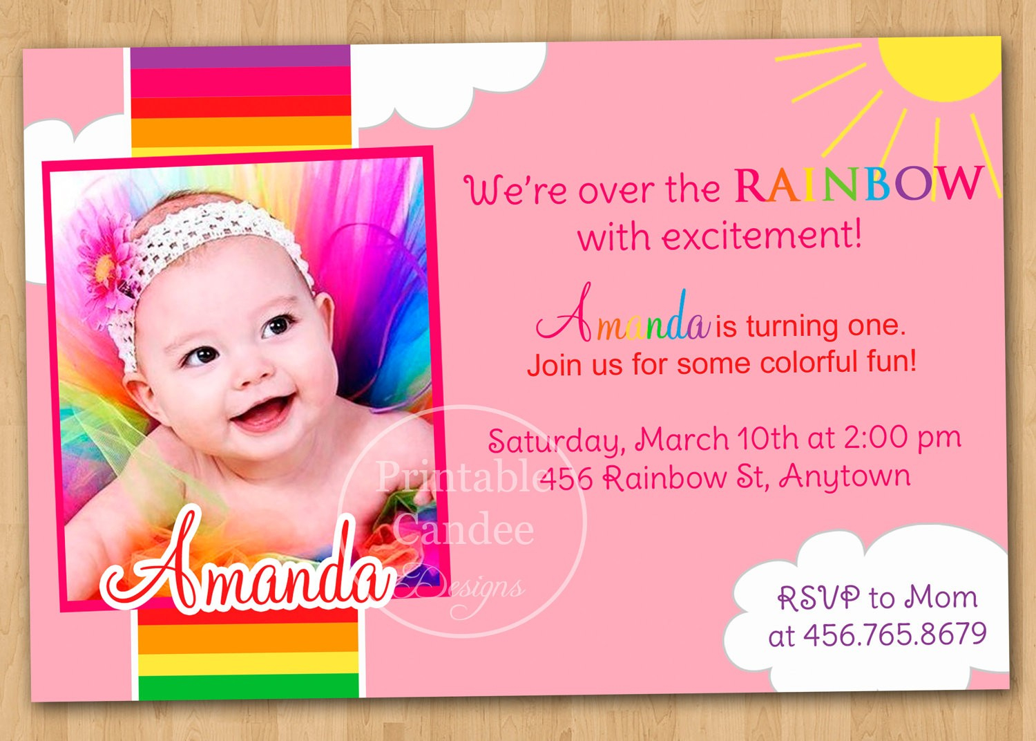 1st birthday invitations templates with photo free ; 1st-birthday-invitation-templates-free-printable-asafon-ggec-co-excellent-first-birthday-card-designs