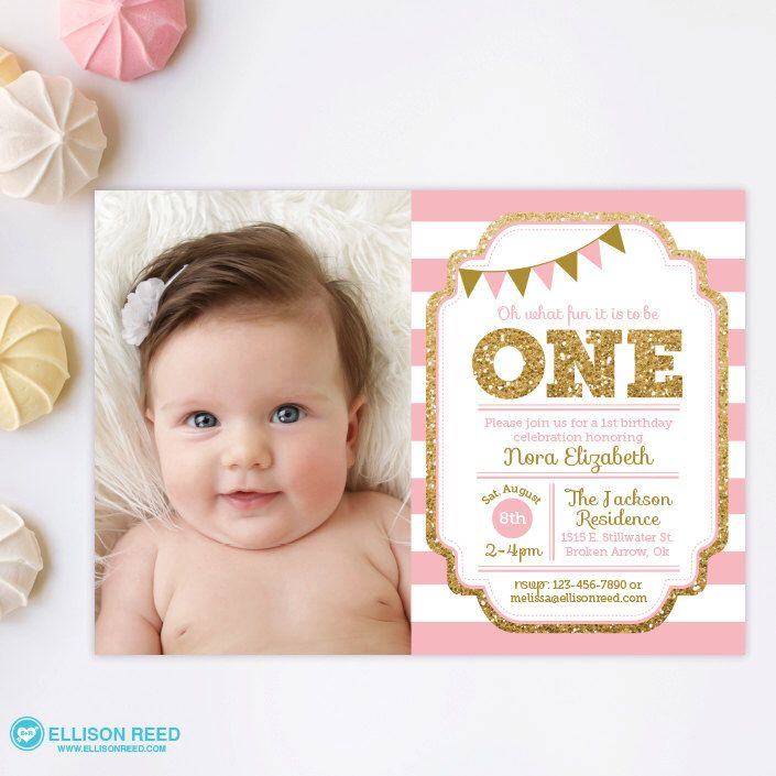 1st birthday invitations templates with photo free ; 1st-birthday-invitations-girl-template-free-best-20-girl-birthday-invitations-ideas-on-pinterest-girl-first-printable