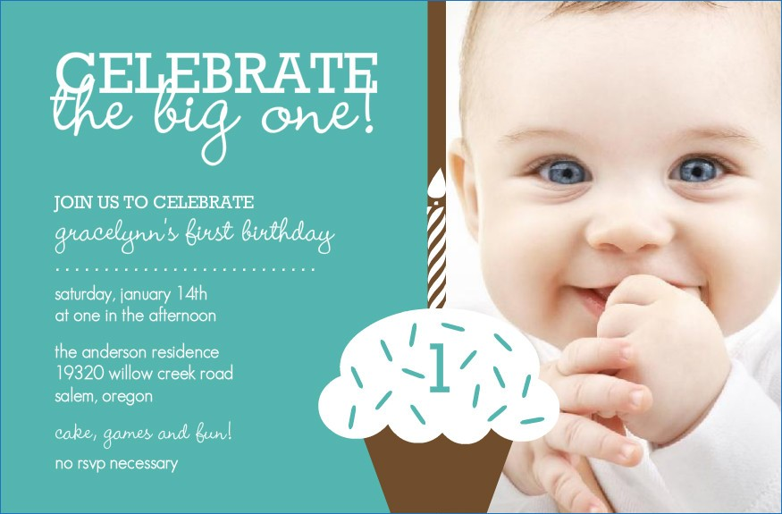1st birthday invitations templates with photo free ; birthday-invitation-cards-for-1st-birthday-orderecigsjuicefo-of-baby-1st-birthday-invitation-template-free-2