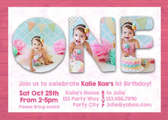 1st birthday invitations templates with photo free ; first-birthday-invitations-templates-free-birthday-invitation-cards-samples-first-birthday-first-birthday-templates