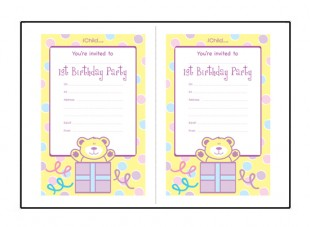 1st birthday party invitation card template free ; 1st-birthday-party-invitation-templates-free-For-a-Birthday-Invitations-Of-Your-Invitation-1