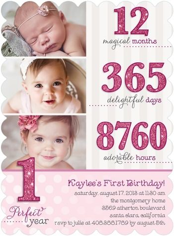 1st year birthday invitation card design ; First-Birthday-Invitation-and-get-ideas-how-to-make-your-Birthday-invitation-with-astounding-appearance-2