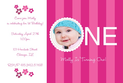 1st year birthday invitation card template ; 1st-birthday-invitation-card-design-Of-Birthday-Invitations-Designed-engaging-11