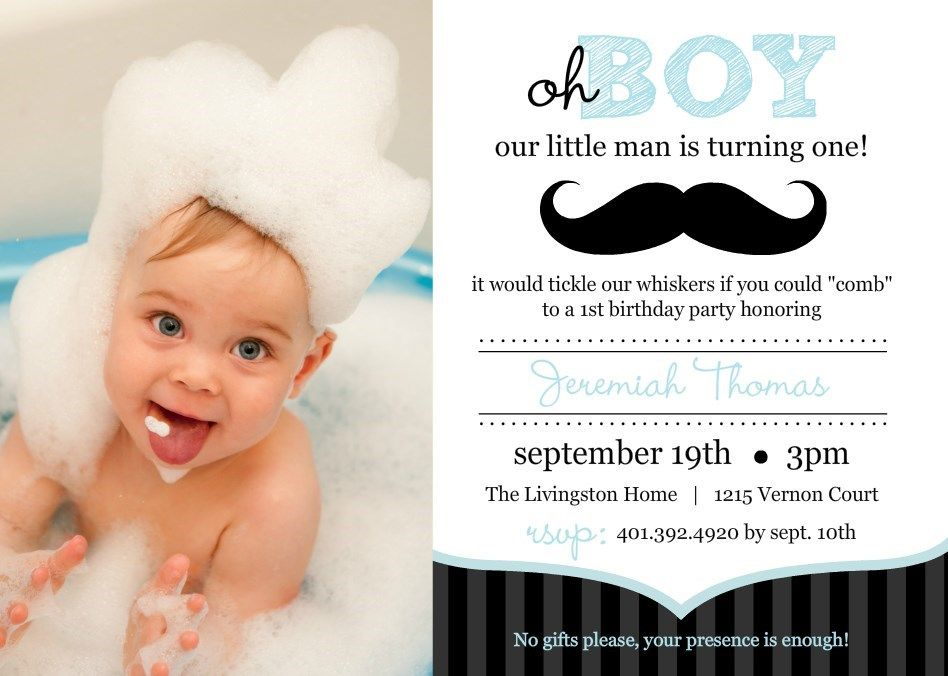 1st year birthday invitation card template ; 2a40a5b7c6c55fbbe408728d72cbd6d9