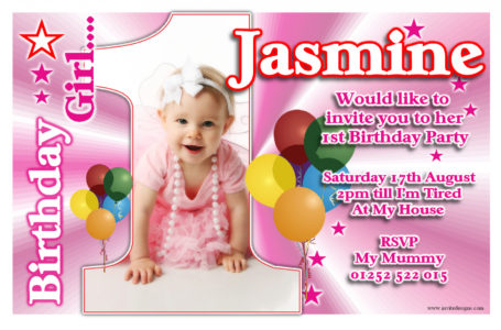 1st year birthday invitation card template ; awesome-first-birthday-invitation-card-template-74-about-remodel-birthday-invitation-cards-samples-first-birthday-455x300