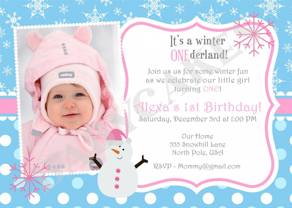 1st year birthday invitation card template ; winter-birthday-party-invitation-wording-first-birthday-party-invitation-ideas-birthday-invite-wording-gangcraft-printable