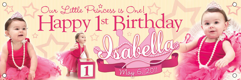 1st year birthday photo banner ; 1st-year-birthday-banner-glow-the-event-store-banners-glow-the-event-store