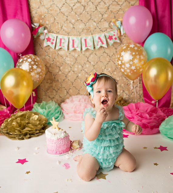 1st year birthday photo banner ; a88a2abb9cc411a6f7b81082aa81afc4