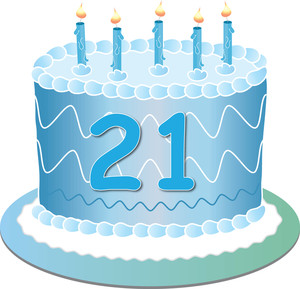21st birthday clipart images ; clip_art_illustration_of_a_birthday_cake_for_a_21st_birthday_0515-1101-0714-1629_SMU