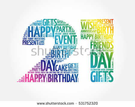 21st birthday clipart images ; stock-vector-happy-st-birthday-word-cloud-collage-concept-531752320
