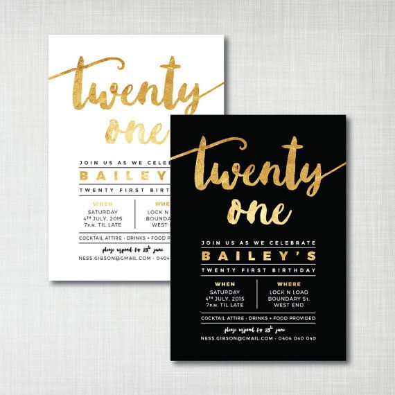 21st birthday invitation card design ; 21st-birthday-invitations-and-get-inspired-to-create-your-own-Birthday-invitation-design-with-this-ideas-1