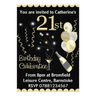 21st birthday invitation card design ; 21st-birthday-party-invitations-cloveranddot-superb-21-birthday-card-design
