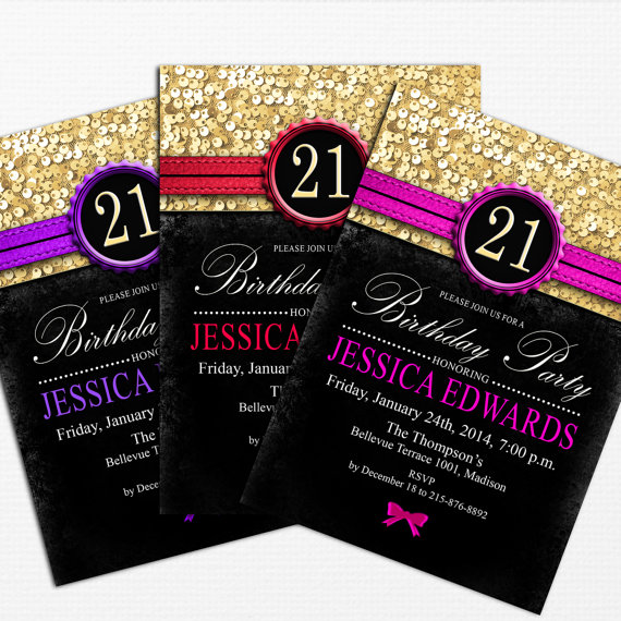 21st birthday invitation card design ; 539ace6234cc19cd975398f1637bd1fe