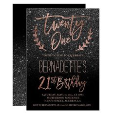 21st birthday invitation card design ; 9c7576fd9accd3817013af4bec783e9d