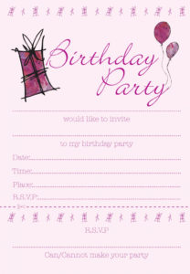 21st birthday invitation card design ; blank-pink-birthday-party-invitation-card-design-for-girls-momecard-21st-birthday-invitation-cards-208x300
