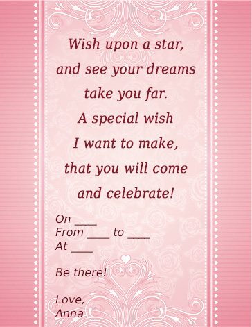 21st birthday invitation quotes ; 16th-birthday-party-invitation-wording-and-get-ideas-how-to-make-astounding-Birthday-invitation-appearance-8