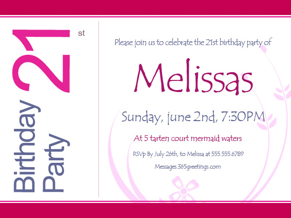 21st birthday invitation quotes ; 21st-birthday-party-invitations-for-girl